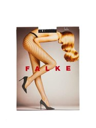Falke Fishnet Tights Navy