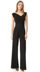 Black Halo Jackie Jumpsuit Black
