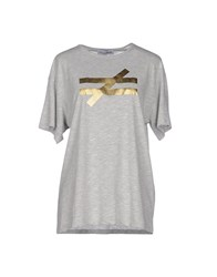 Lo Not Equal Topwear T Shirts Women Grey