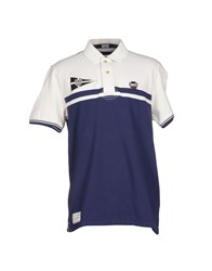 Henry Cotton's Topwear Polo Shirts Men Dark Blue