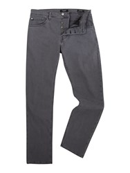 Guess Men's Ventura Regular Straight Fit Jeans Grey