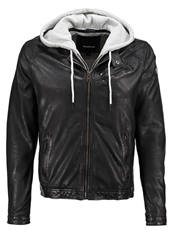 Redskins Josh Leather Jacket Black