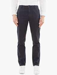 Saturdays Surf Nyc Navy Cotton Twill Fatigue Trousers