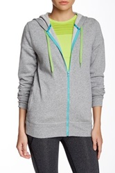 Roxy First Place Fleece Hoodie Gray