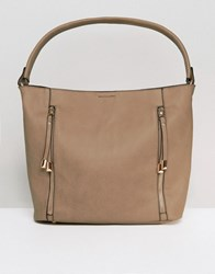 Oasis Hobo Shoulder Bag Camel Brown