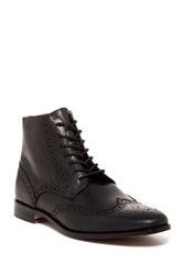 Rush By Gordon Rush Marcus Leather Boot Black