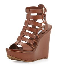 Lexington Strappy Wedge Sandal Sandalwood Diane Von Furstenberg