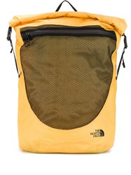 The North Face Logo Roll Top Backpack 60