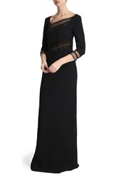 Roland Mouret Beaumont Gown Black