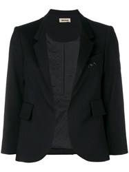 Zadig And Voltaire Verys Cropped Blazer Black