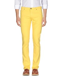 Versace Jeans Casual Pants Yellow