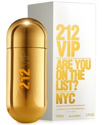 212 Vip By Carolina Herrera Eau De Parfum 2.7 Oz No Color