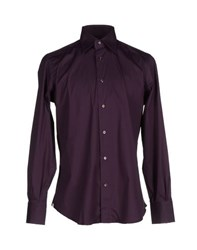 Mazzarelli Shirts Shirts Men Garnet