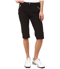 Jamie Sadock Airwear Light Weight 24 In. Knee Capri Jet Black Women's Capri