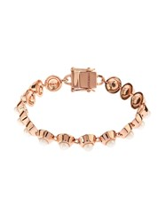 Eddie Borgo Pearl And Rose Gold Plated Bracelet