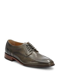 Cole Haan Leather Lace Up Dress Shoes Mason Grey