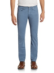 Ag Adriano Goldschmied Matchbox Slim Straight Colored Jeans Ocean