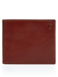 Aspinal Of London Billfold Coin Wallet Brown