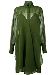 Petar Petrov Shirt Dress Green