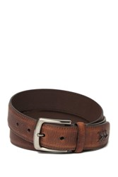 Tommy Bahama 35Mm Leather Belt Brown