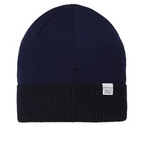 Norse Projects Double Faced Beanie Blue