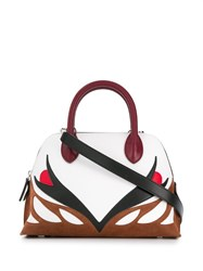 Lanvin Parrot Magot Tote Bag Red
