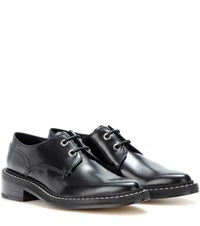 Rag And Bone Kenton Leather Derby Shoes Black