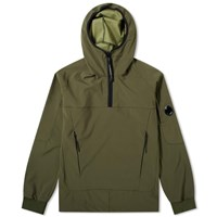 C.P. Company Soft Shell Popover Smock Green