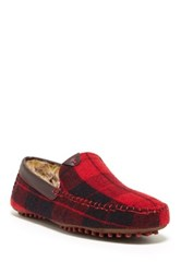 Ted Baker Carota Faux Fur Lined Slipper Red
