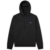 Fred Perry Authentic Process Colour Popover Hoody Black