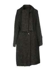 Femme By Michele Rossi Coats Green