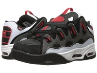 Osiris D3 2001 White Black Red Men's Skate Shoes