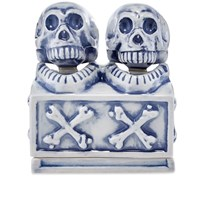 Neighborhood Booze Dual Skull Incense Chamber Blue