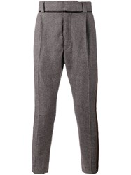 Haider Ackermann Houndstooth Trousers Black