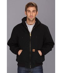 Carhartt Qfl Sandstone Active Jacket Black Men's Coat