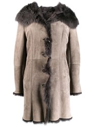 Liska Izakomm Coat Grey