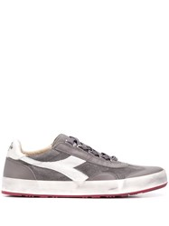 Diadora Lace Up Sneakers Grey