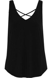 Tart Collections Donatella Stretch Modal Jersey Tank Black