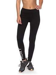 Roxy Spy Game Technical Leggings Anthracite
