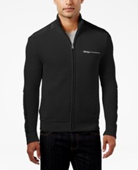 Inc International Concepts Men's Hale Ottoman Sweater Jacket Only At Macy's Deep Black