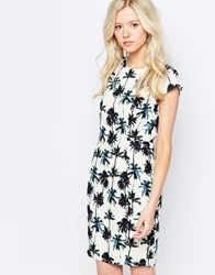 Sugarhill Boutique Dress In Palm Print Multi