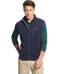 Greg Norman For Tasso Elba Big And Tall Five Iron Performance Fleece Golf Vest Only At Macy's Night Sky