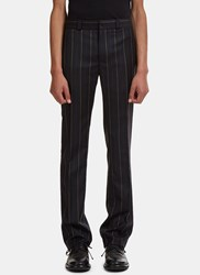 Wales Bonner Beuys Tailored Striped Pants Black
