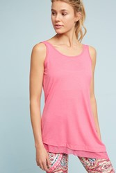 Anthropologie Rossa Tie Back Tank Top Pink