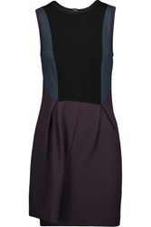 M Missoni Color Block Ponte Playsuit Purple