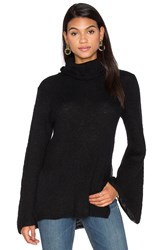 Keepsake Rendezvous Knit Sweater Black
