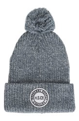 Herschel Women's Supply Co. Sepp Knit Beanie Grey Heather Grey