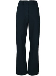 Kristensen Du Nord Straight Leg Trousers Blue