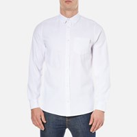 Carhartt Men's Long Sleeve Dalton Shirt White Heavy