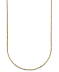 Giani Bernini 24K Gold Over Sterling Silver Necklace Popcorn Chain Necklace